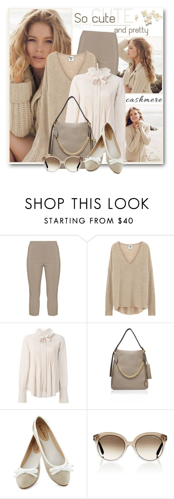 """Cashmere Sweater"" by brendariley-1 ❤ liked on Polyvore featuring Repeat Cashmere, Twister, Chloé, Kurt Geiger, Tom Ford and cashmere"