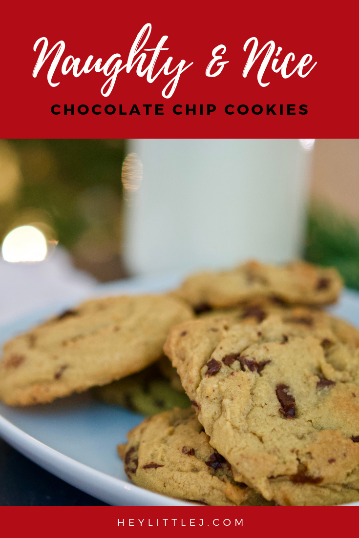 Naughty Nice Chocolate Chip Cookie