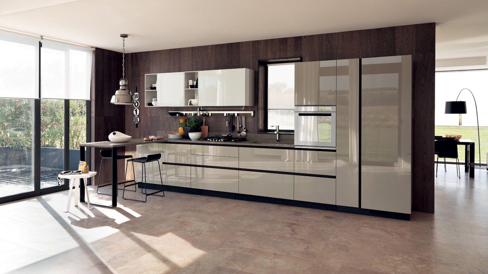 diseño de cocina moderna   Daniel   Pinterest   Kitchens and Modern