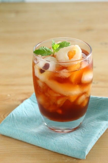 Leci Honey Ice Tea Sajian Sedap Teh Es Resep Minuman