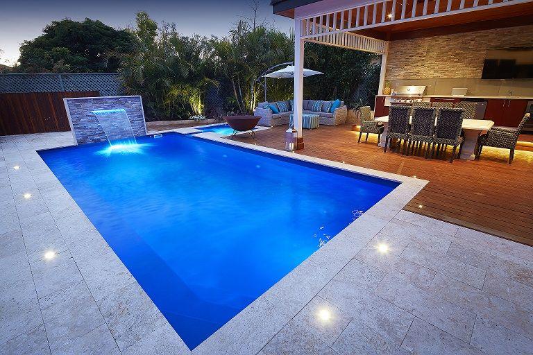 Valentina Fibreglass Swiming Pool 8m X 4m Aqua Technics