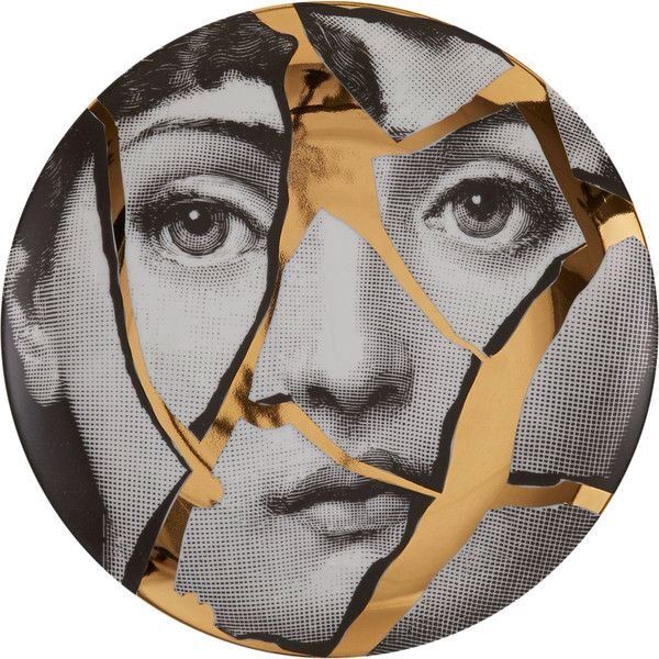 """Plate 2 from Piero Fornasetti's """"Theme and Variations"""" series"""