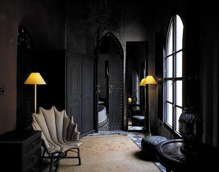 Antico Bagno ~ Nellappartamento blu la lounge area che conduce alla sala da