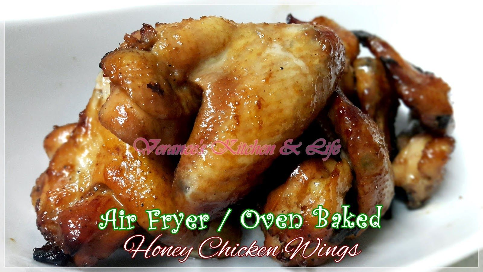 AirFryer / Oven Baked Honey Chicken Wings Honey chicken