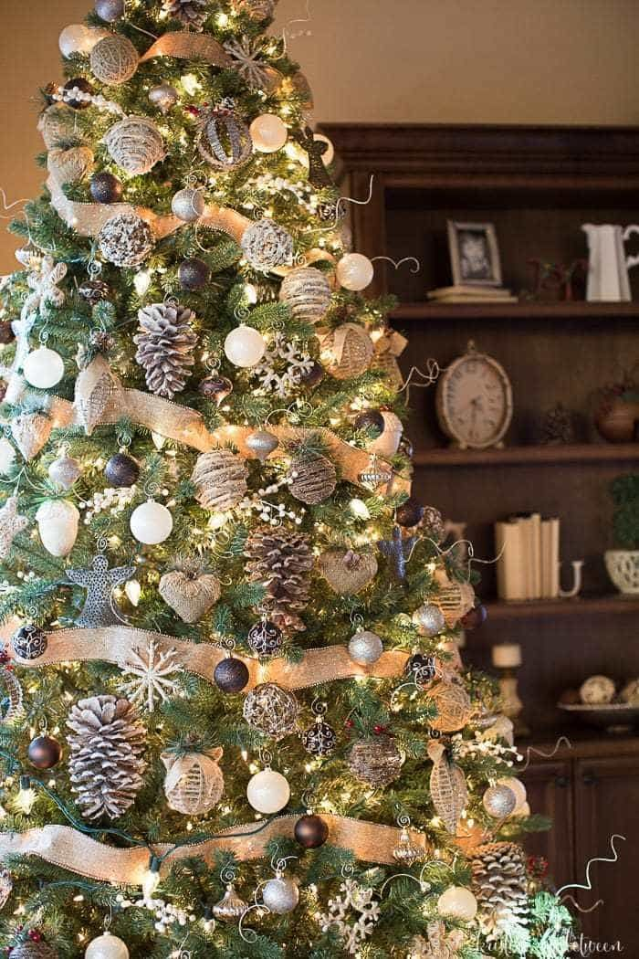 3 tips to make your tree magical farmhouse rustic style christmas tree