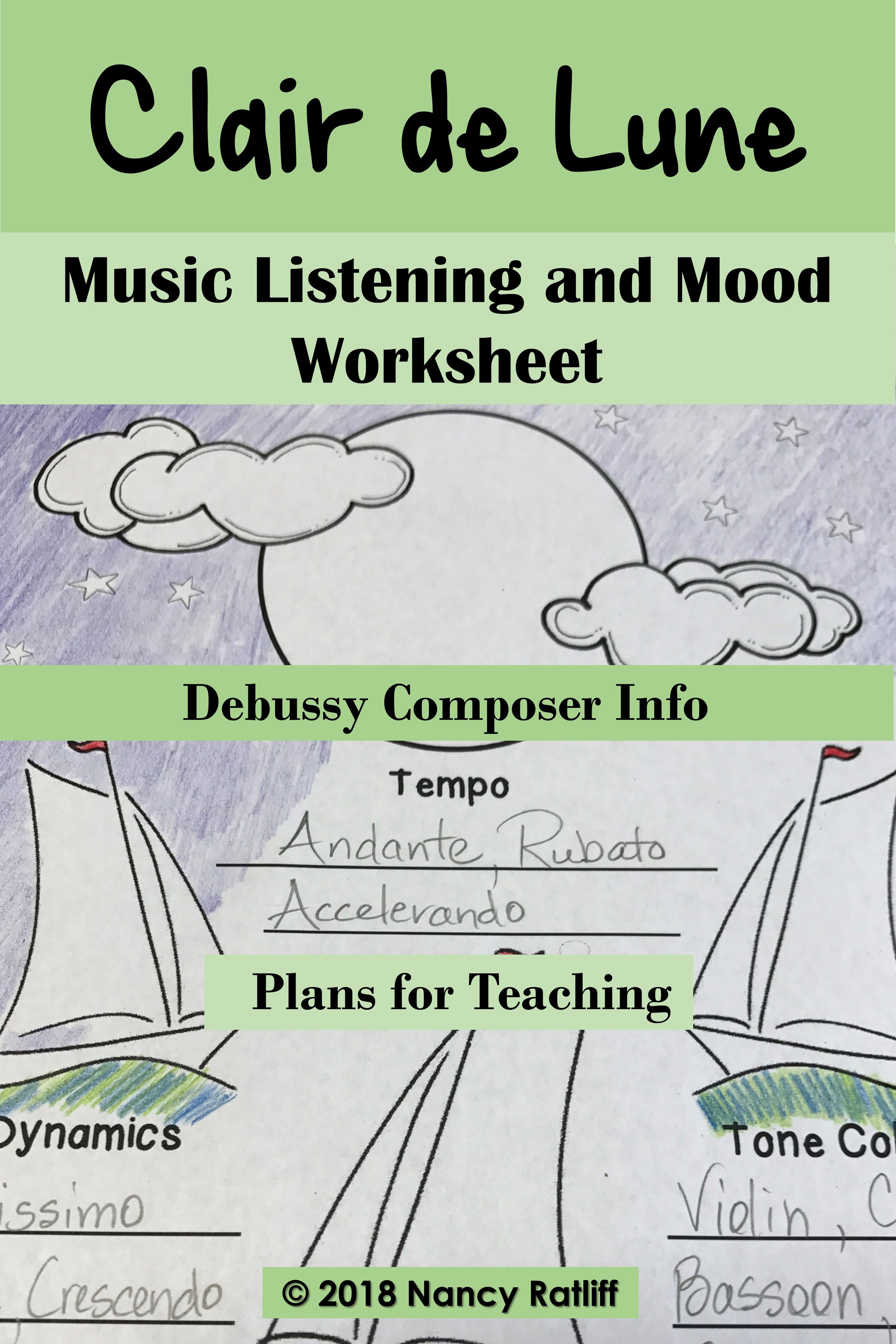 Clair De Lune For Piano Orchestra Music Listening And