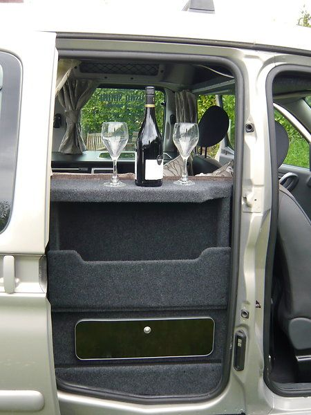 citroen berlingo micro camper campervan 122 camper. Black Bedroom Furniture Sets. Home Design Ideas