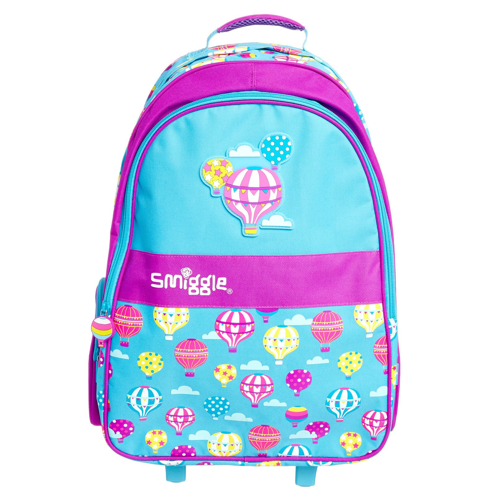 Smiggle bags for school - Image For Light Up Wheels Trolley Backpack From Smiggle Uk