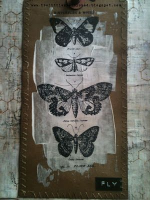 The Little Shabby Shed: Some inky time at last!#