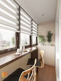 Resultado de imagem para ideas para decorar balcones cerrados