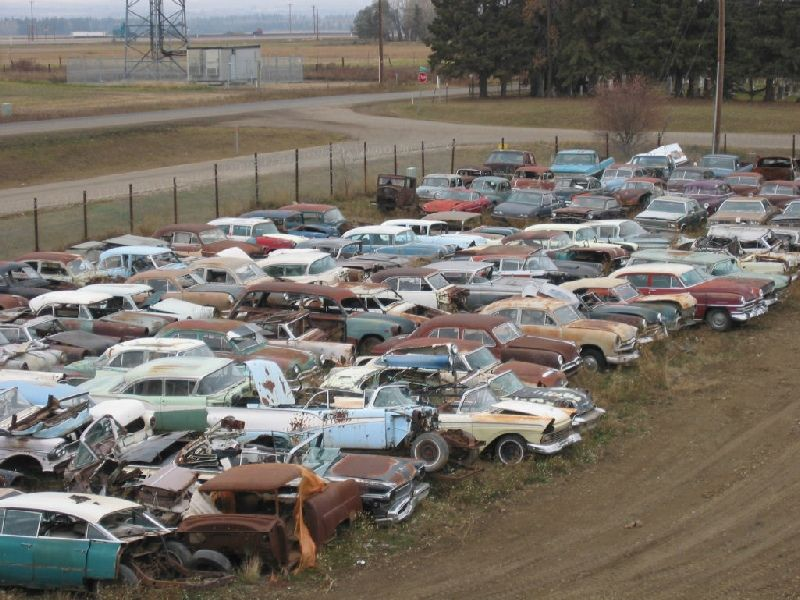 One man\'s collection of more than 600 vintage cars a   Kustom, Barn ...