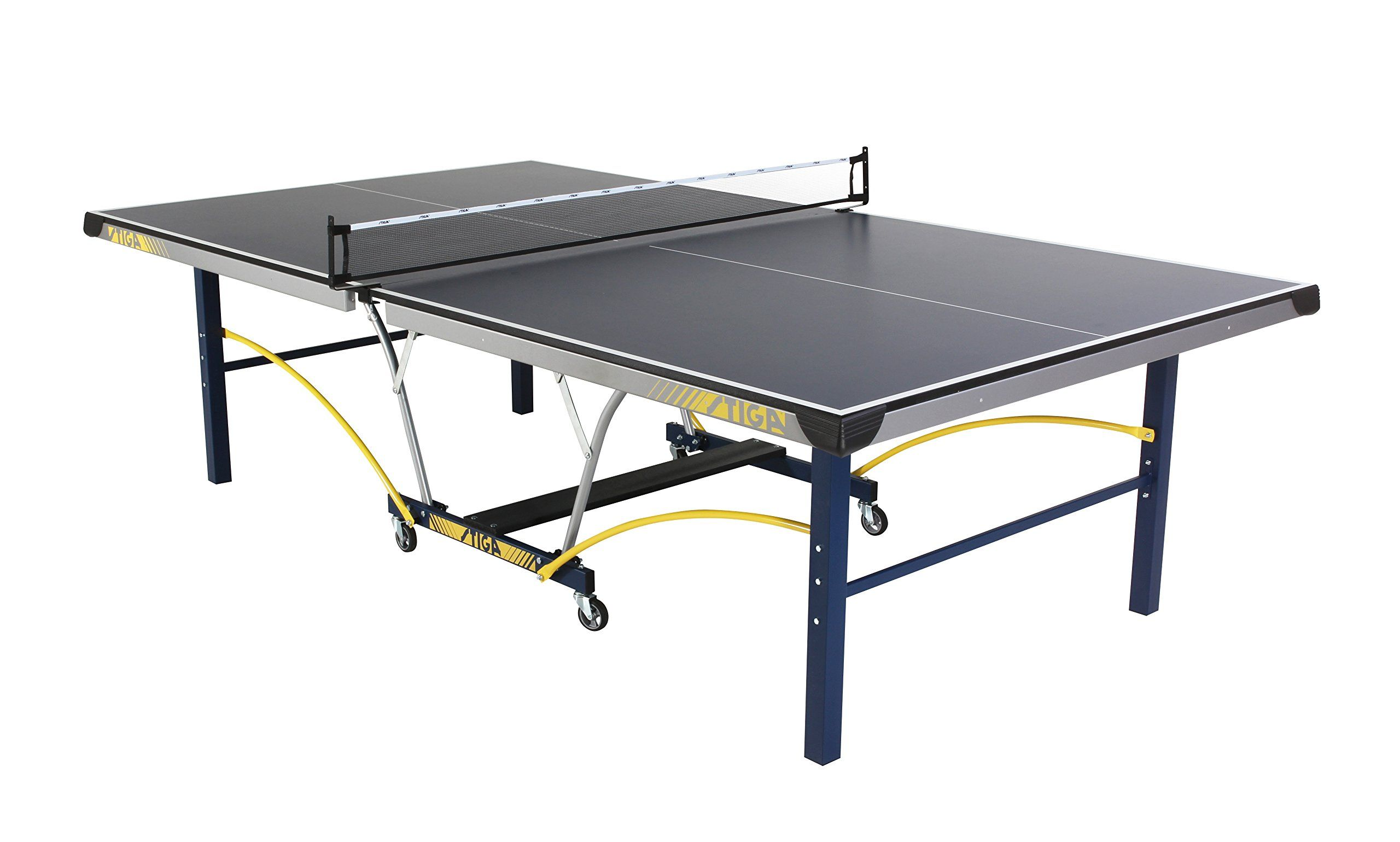 STIGA Triumph Table Tennis Table 435 looks pretty good