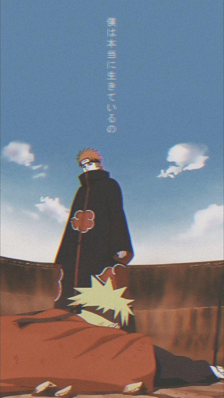 imagem de Pen batendo Naruto
