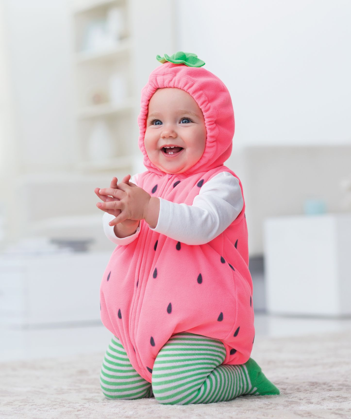 339ef7212656 Little Strawberry Baby Halloween Costume  beallsflorida