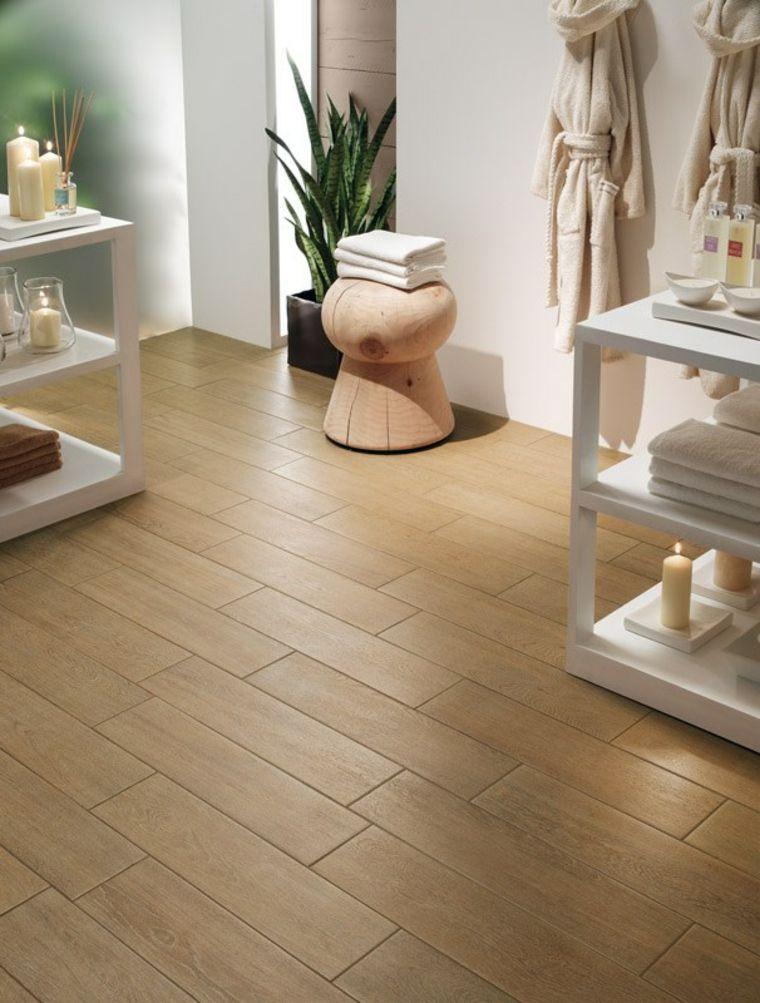 revtement de sol et salle de bains en bois - Carrelage Imitation Parquet Pour Salle De Bain