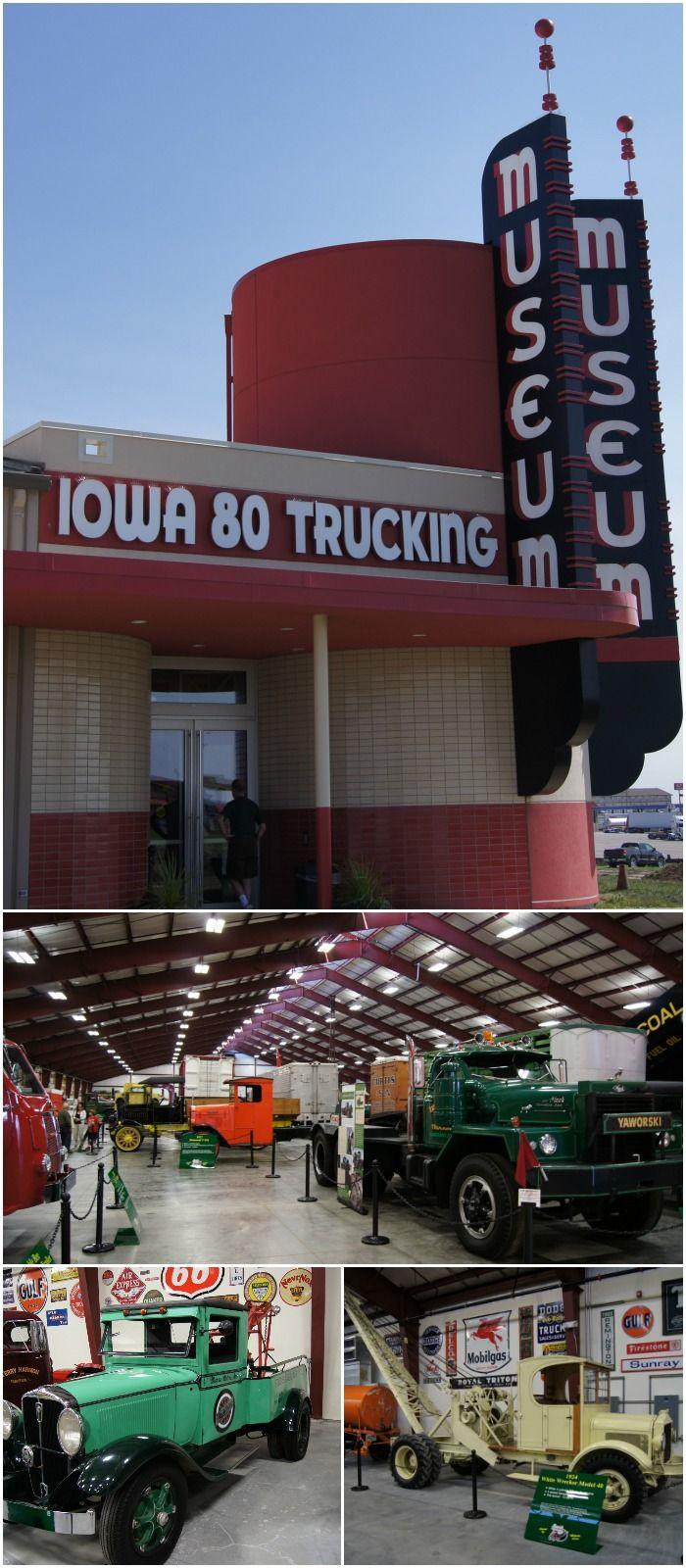 iowa 80 trucking museum walcott iowa usa labeled the most