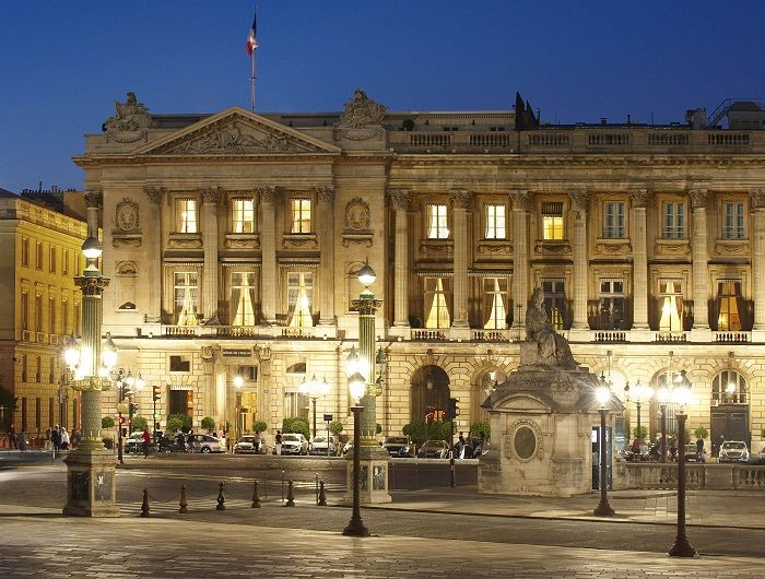 Hotel De Crillon Paris France