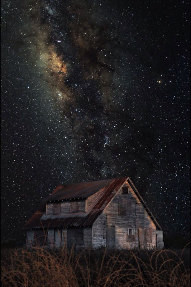 """Photo """"Abandoned Memories Under the stars..."""" by Michelle Morris Denniston #500px"""