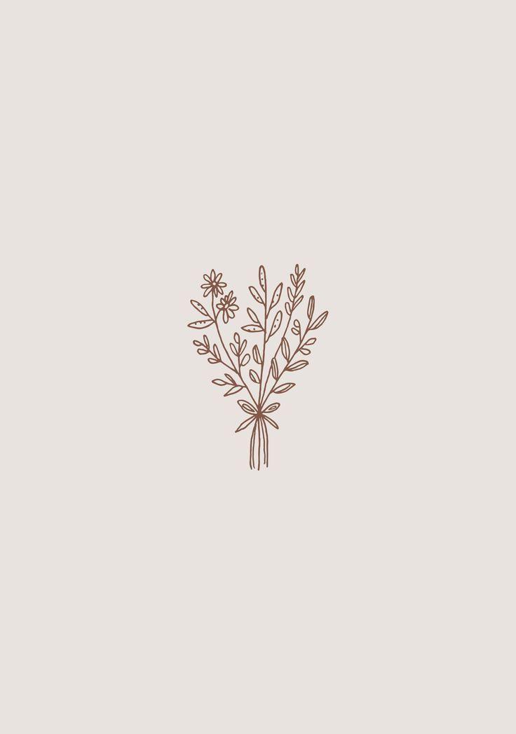 illustrations in 2020 | Flower drawing, Minimalist ...