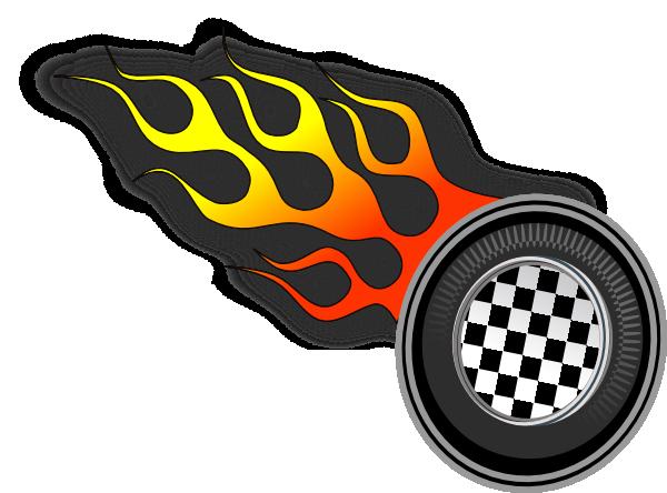 race track clip art Racing Wheels clip art vector clip