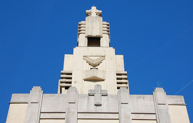 """A magnificent Art Deco church in the Brussels borough (""""commune"""") of Forest. I was shocked the first time I saw it. Just amazing. John & Mel Kots"""