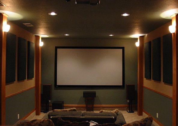 贅沢 面白い カッコイイ マニアが自宅に作った映画館