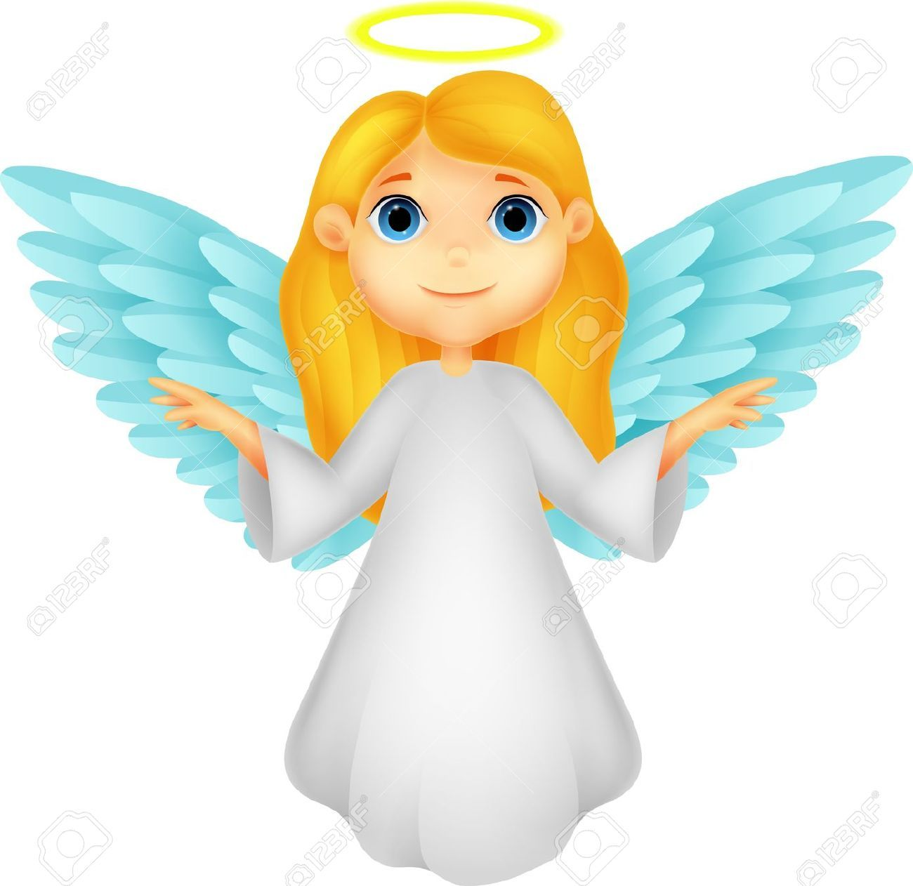 20754058 cute angel cartoon stock vector christmas