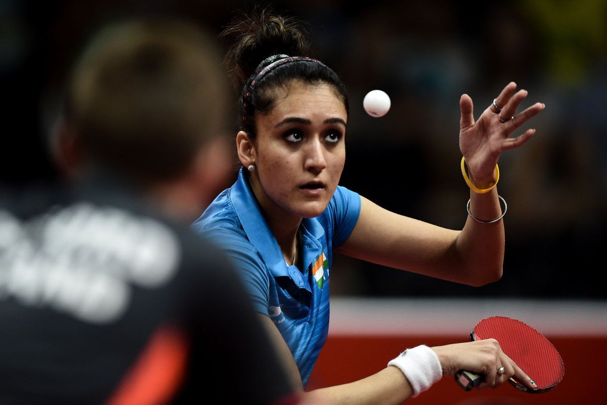 Manika Batra Becomes First Indian To Win Gold In Table Tennis At Commonwealth Games Table Tennis Commonwealth Games Tennis