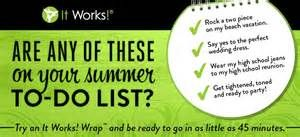 Try An It Works Wrap This Summer : The Wrap Girl Diaries
