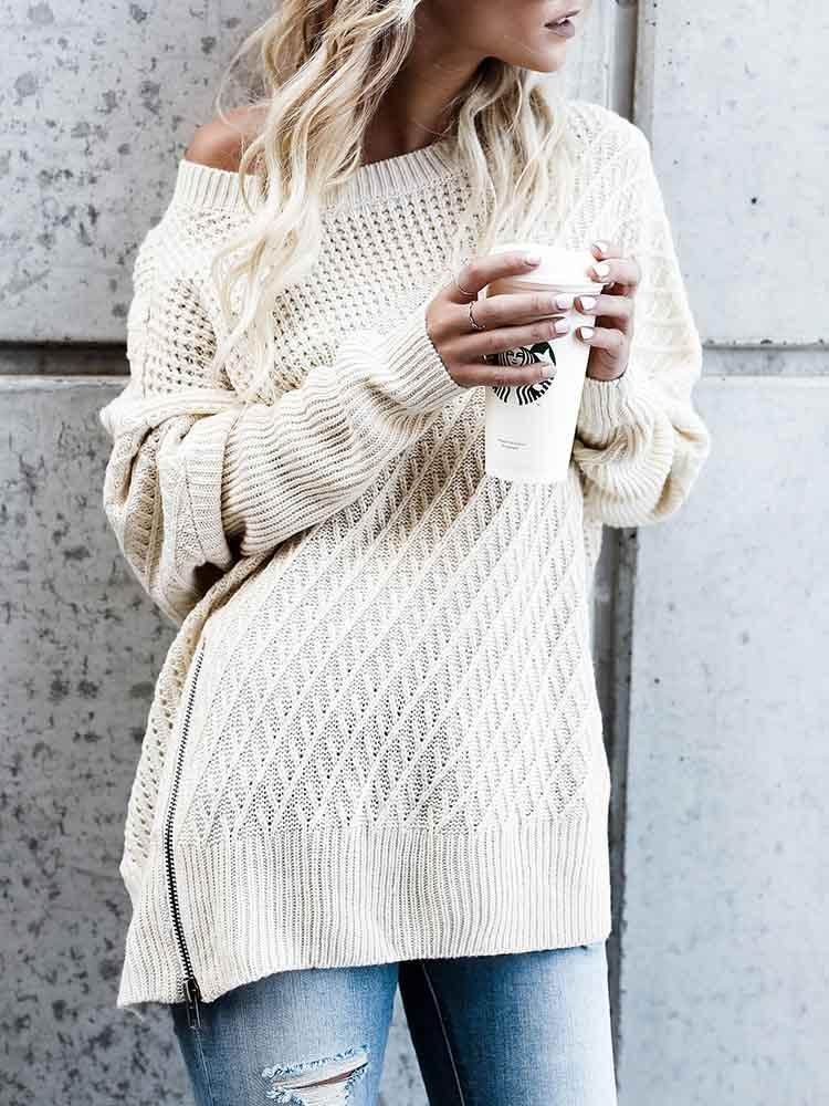 f385ea9932 53% OFF! Oversized sweaters for fall winter cozy cute knit sweaters outfits  for teens fashion  style  stylish  cute  styles  outfits  shopping  sale ...