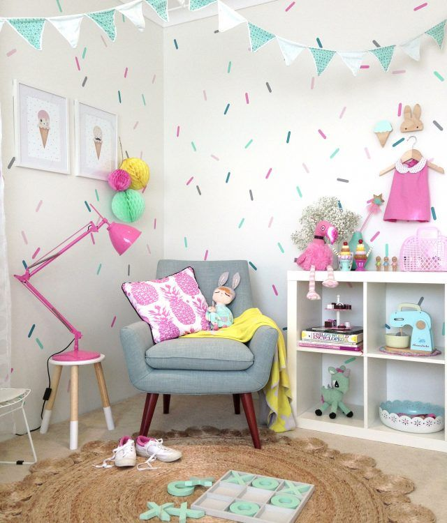 Interior Design Of Bedroom Images Wall Decor For Kids Bedroom Bedroom Ideas On A Budget Bedroom Colors For Males: Sprinkles Bedroom Decals? Could Do A Cake Cupcakes Ice