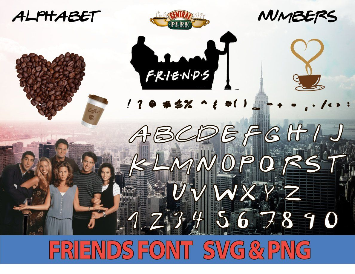 Friends font friends font svg friends alphabet friends font