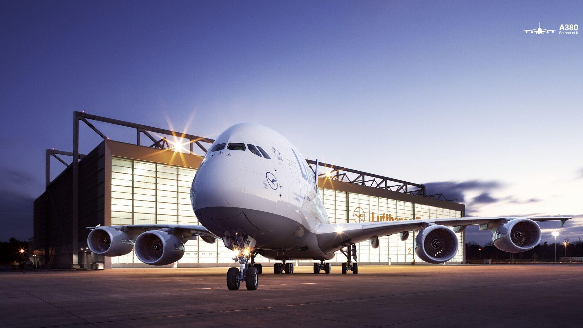 lufthansa at frankfurt A380