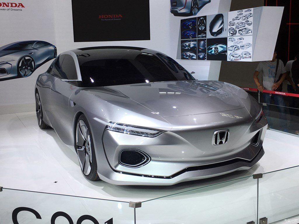#HondaDesign #C001 concept unveiled, could inspire next-gen Honda City for China  #Honda
