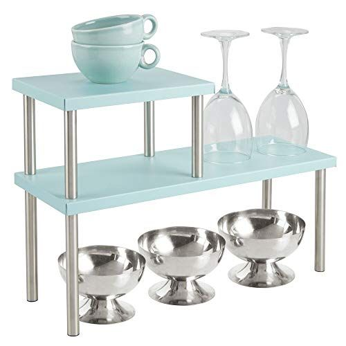 mDesign Küchenregal mit 2 Ablagen –…