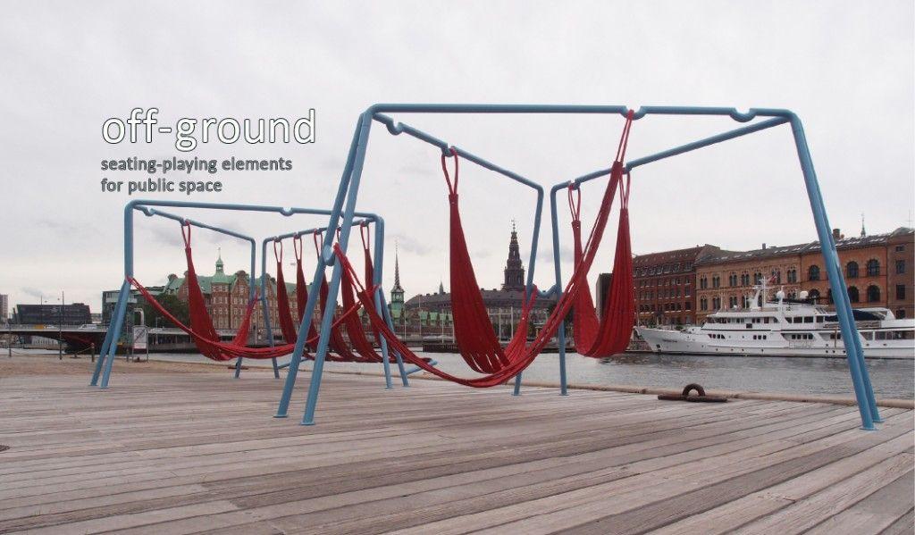 Swings and hammocks for public spaces playscapes for Mobiliario espacio publico