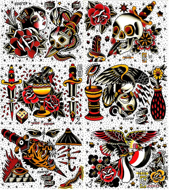 Jelle Soos Traditional Tattoo Painting Traditional Tattoo Art
