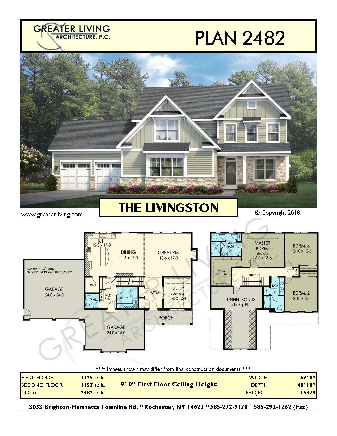 Plan 2482 The Livingston Two Story House Plan Greater Living Architecture Resident Residential Architecture Architectural Design House Plans Architecture