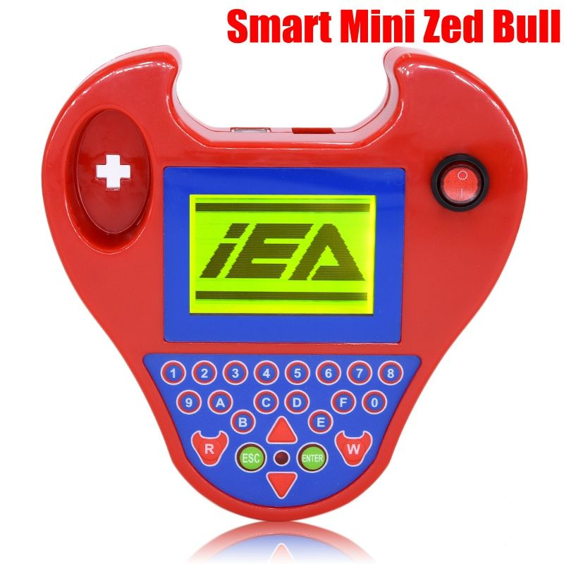 2017 hot Auto car key Programmer interface smart mini zed bull car transponder tool Multi-Language ZED-BULL Car kits key maker