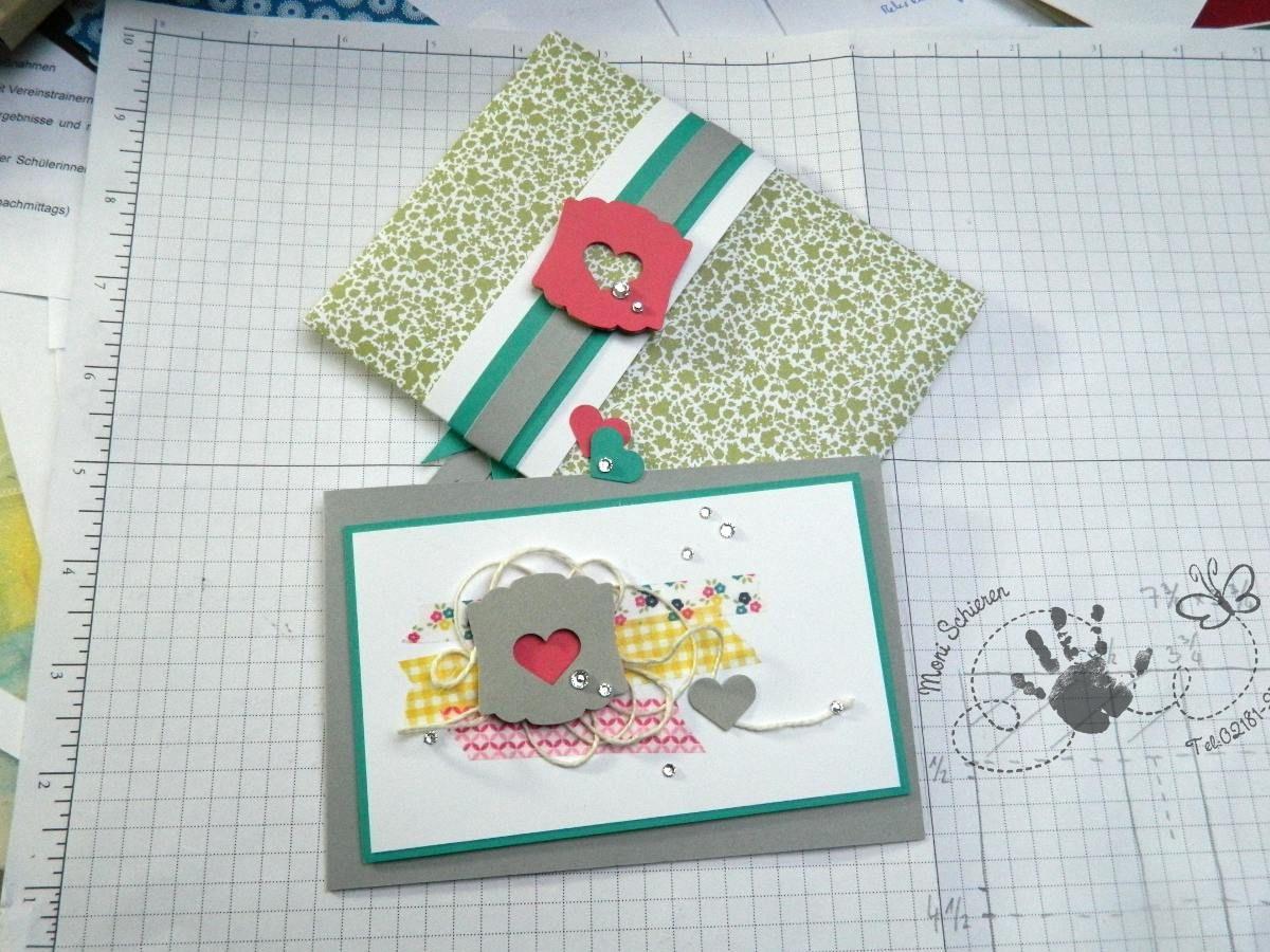 Geburtstagskarte mit Umschlag, Stampin Up!