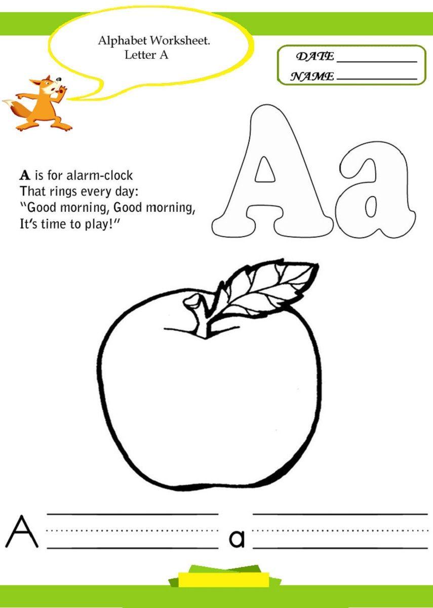 Kindergarten Alphabet Worksheets Printable Alphabet Worksheets Kindergarten Alphabet Worksheets Alphabet Kindergarten [ 1200 x 855 Pixel ]