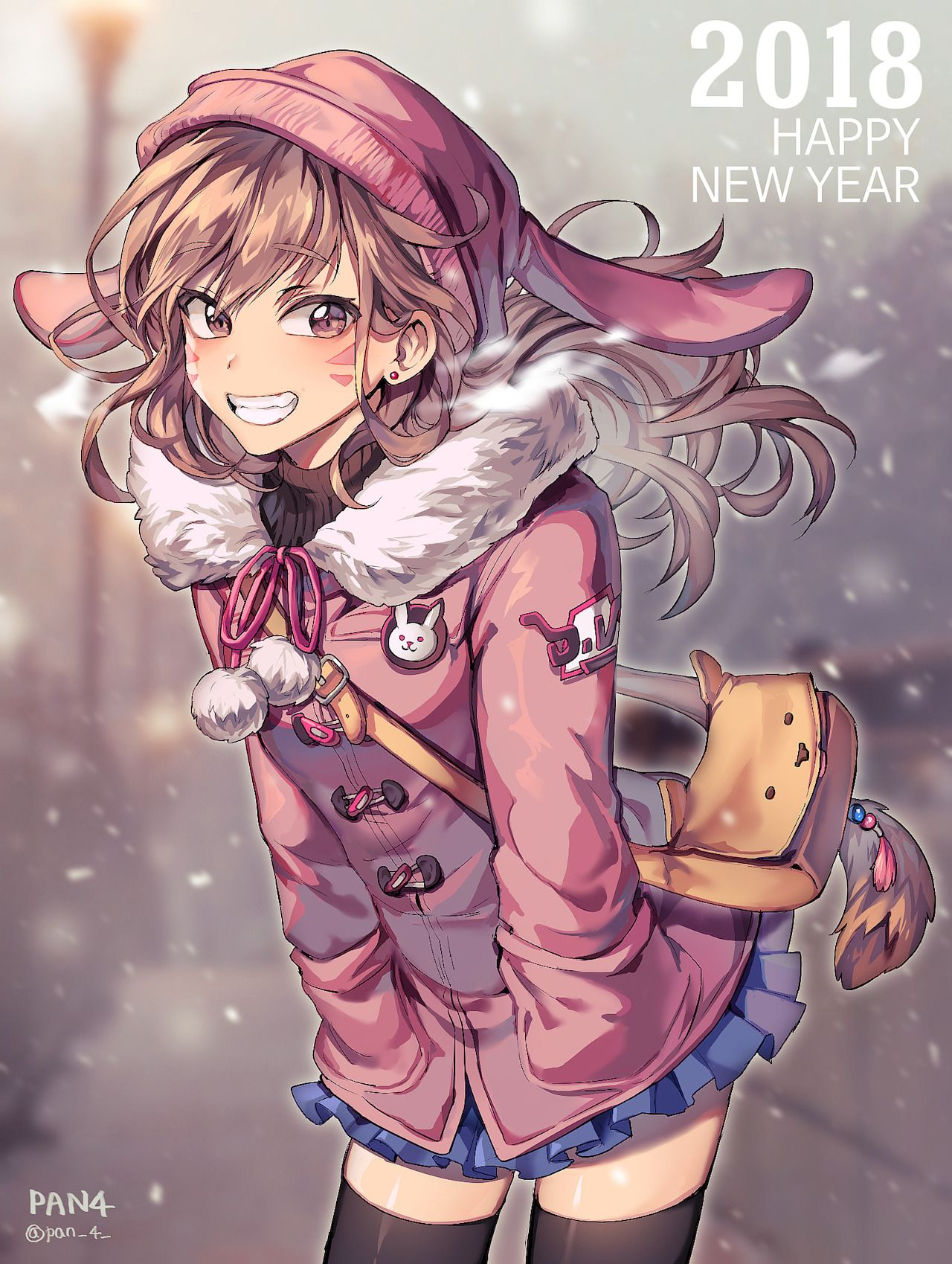Happy New Years By Panza New Year Anime Overwatch Overwatch