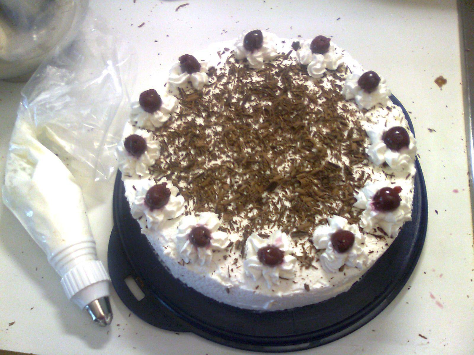 Schwarzwaelder Torte la mia Torta Foresta Nera