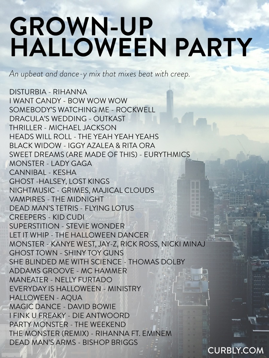 The Ultimate Halloween Music Guide: 80 Tunes For E