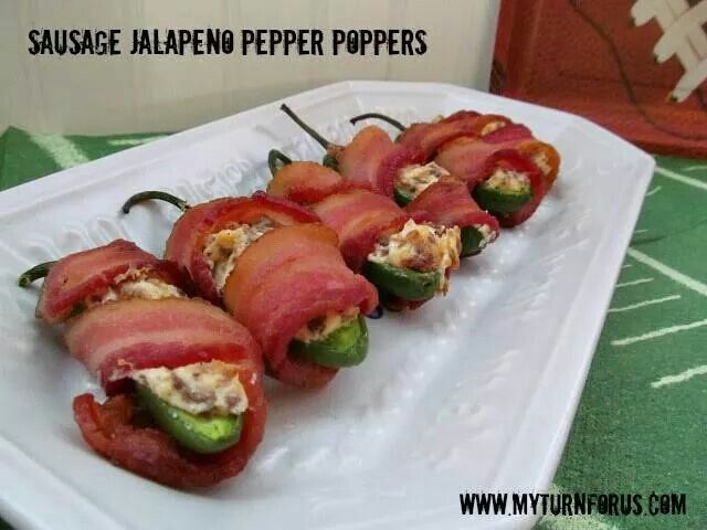 Sausage Jalapeno Pepper Poppers