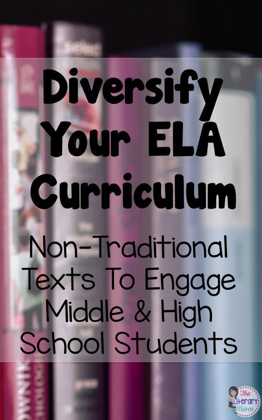 Diversify Your Ela Curriculum Non Traditional Texts To Engage