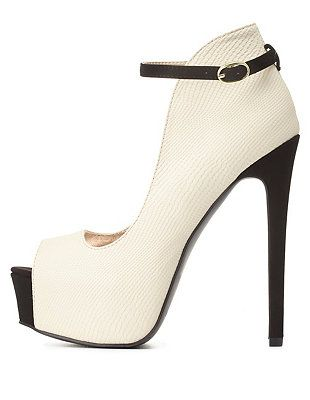 3783f0b58b Pumps ONLY $25.00 Charlotte Russe!! Also save an extra 8.4% at  www.savecashtogether.com!
