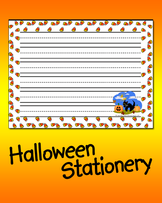 Halloween Stationery (With images) Halloween games