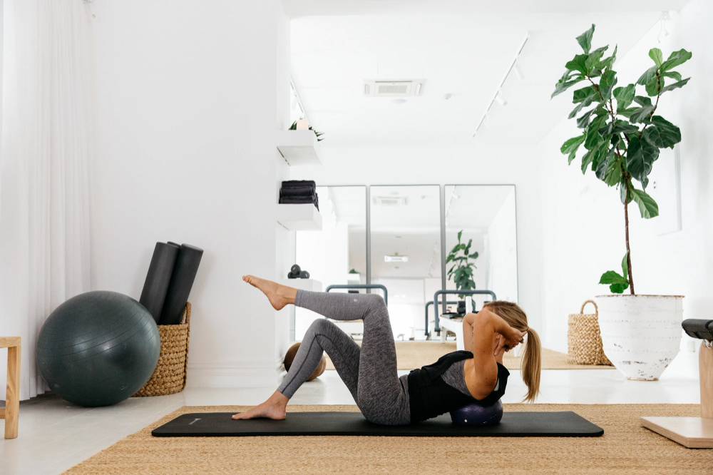 An Organised Life With... Kirsten King from Fluid Form Pilates   Workout room home, Gym room at home, Home yoga room