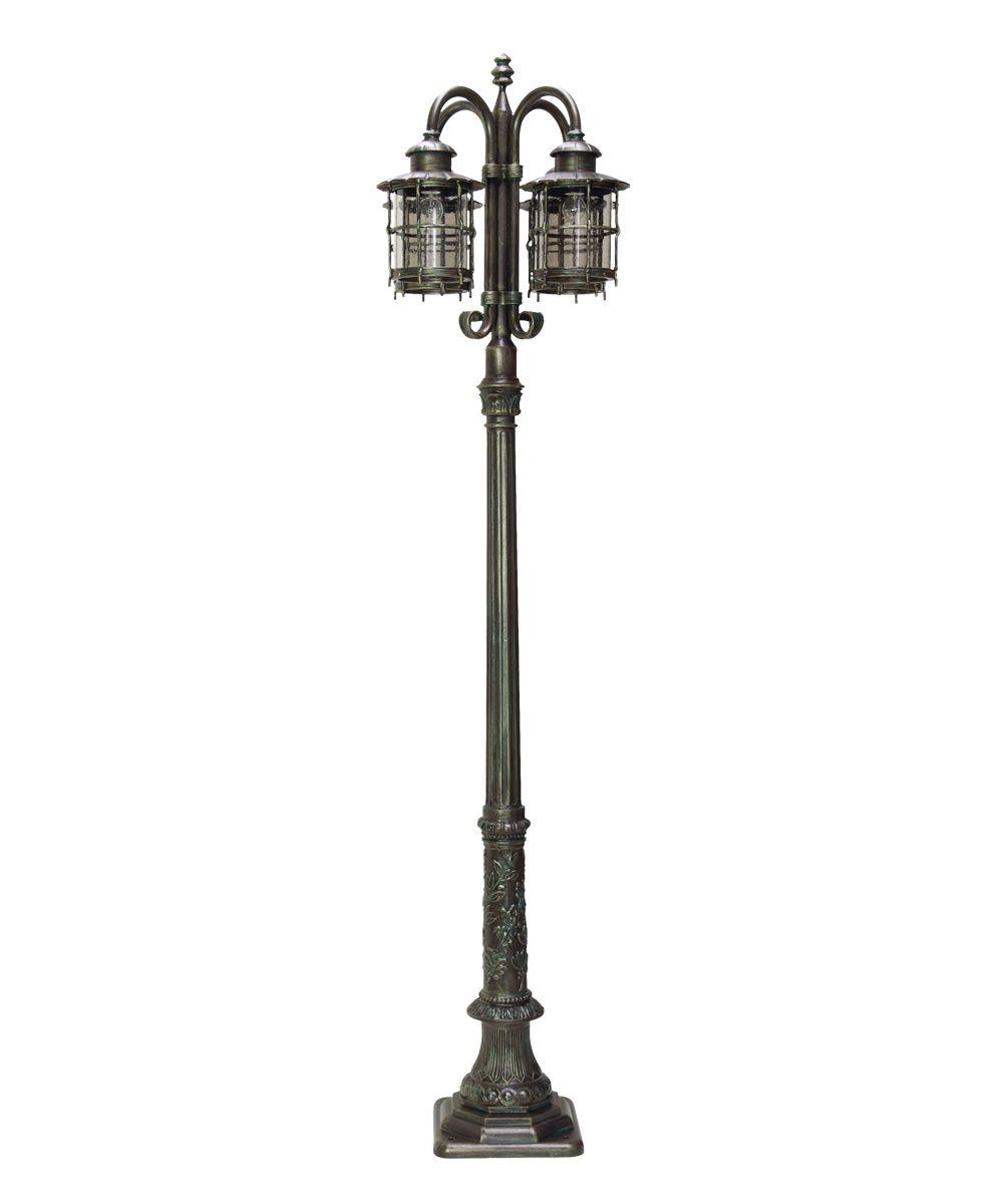 Outdoor Light Post Part - 26: Hexagon Outdoor Lamp Post | 90324 Calluna Post Lamp Outdoor Light